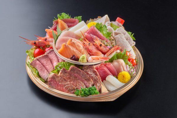 お肉と海の幸オードブル